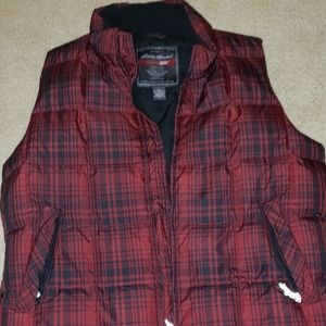 Buffalo plaid,  buffalo check vest